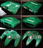 custom_zelda_nintendo_64_green_flake_finish_by_zoki64-d71j1e7